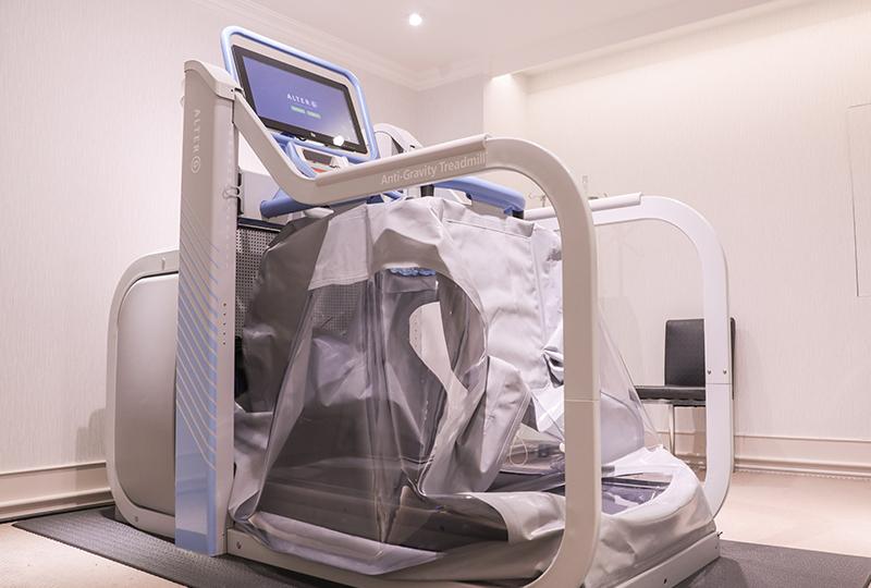 AlterG無重力跑步機(太空漫步機)-名杏診所Dr.永生樹