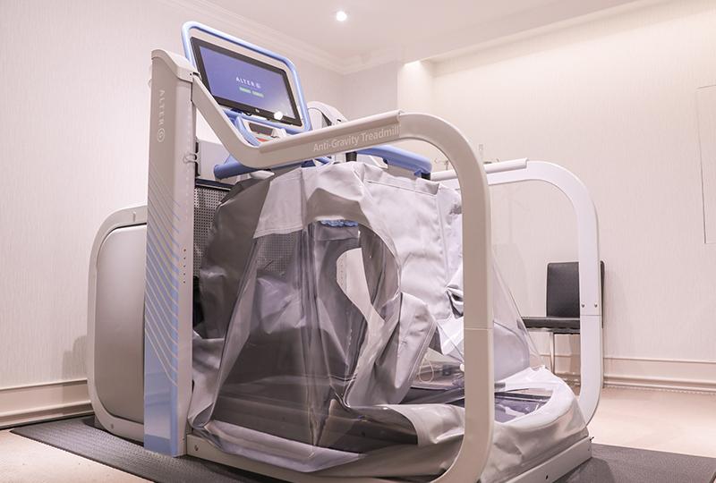 AlterG無重力跑步機(太空漫步機) - 名杏診所Dr.永生樹